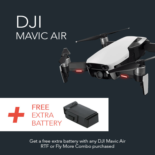 DJI Mavic Air with free extra battery