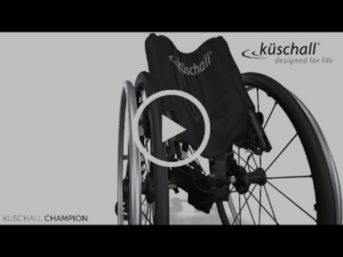 KÜSCHALL CHAMPION folding wheelchair