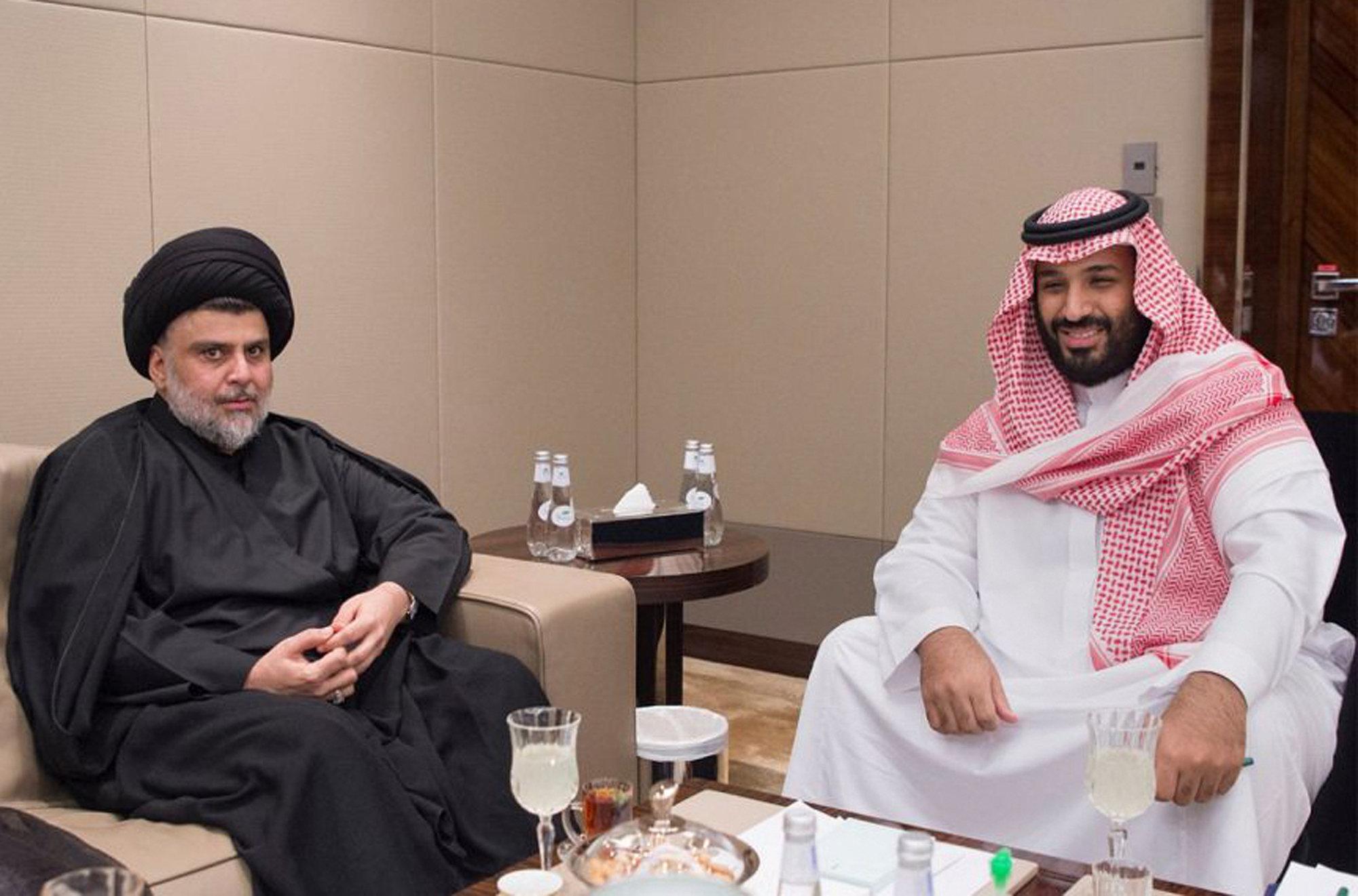 Muqtada al-Sadr and Mohammed bin Salman