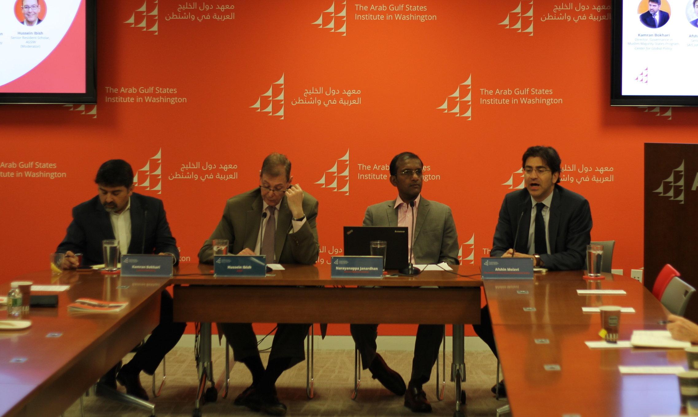 GCC-South Asia panel