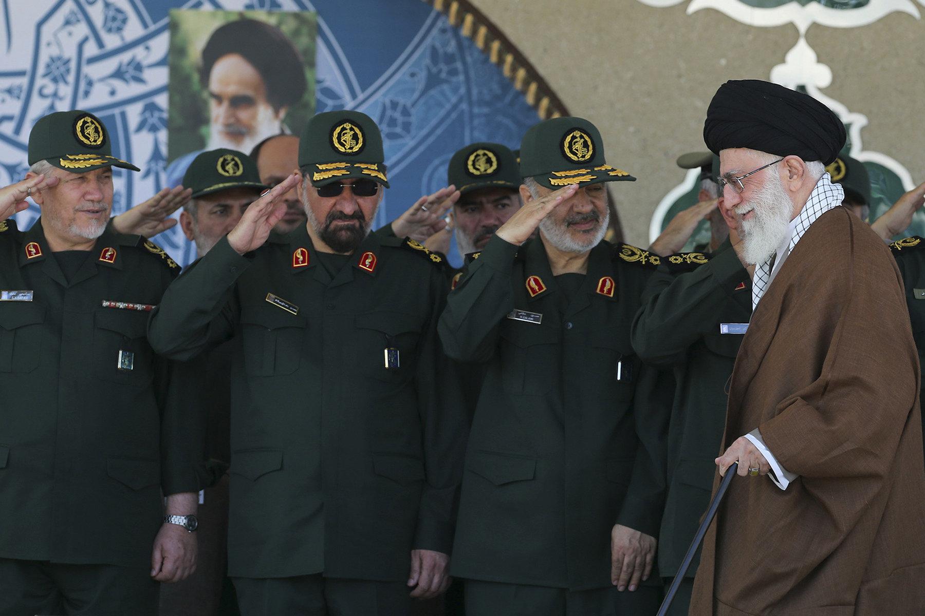 Ayatollah Khamenei and the IRGC