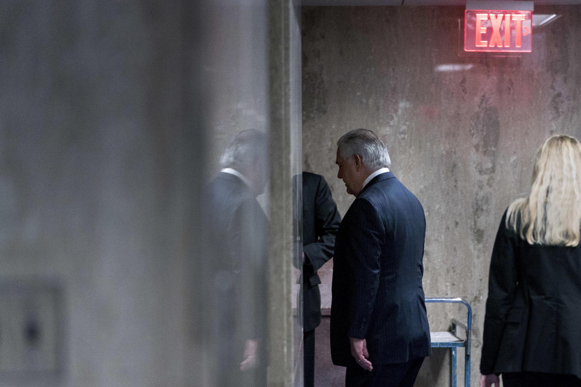 Tillerson Exit