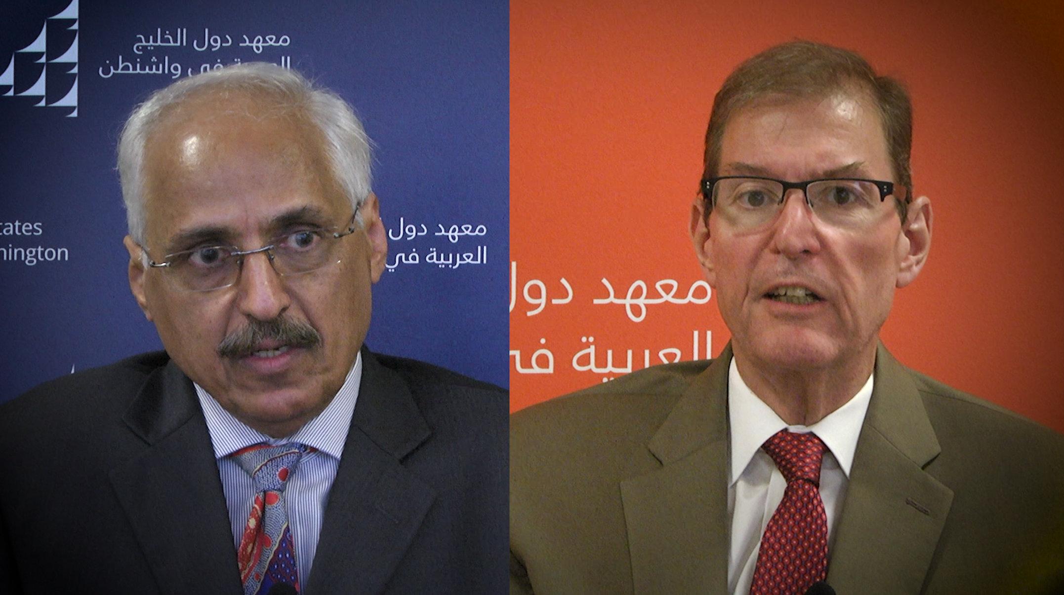 Abdel Aziz Aluwaisheg and Hussein Ibish