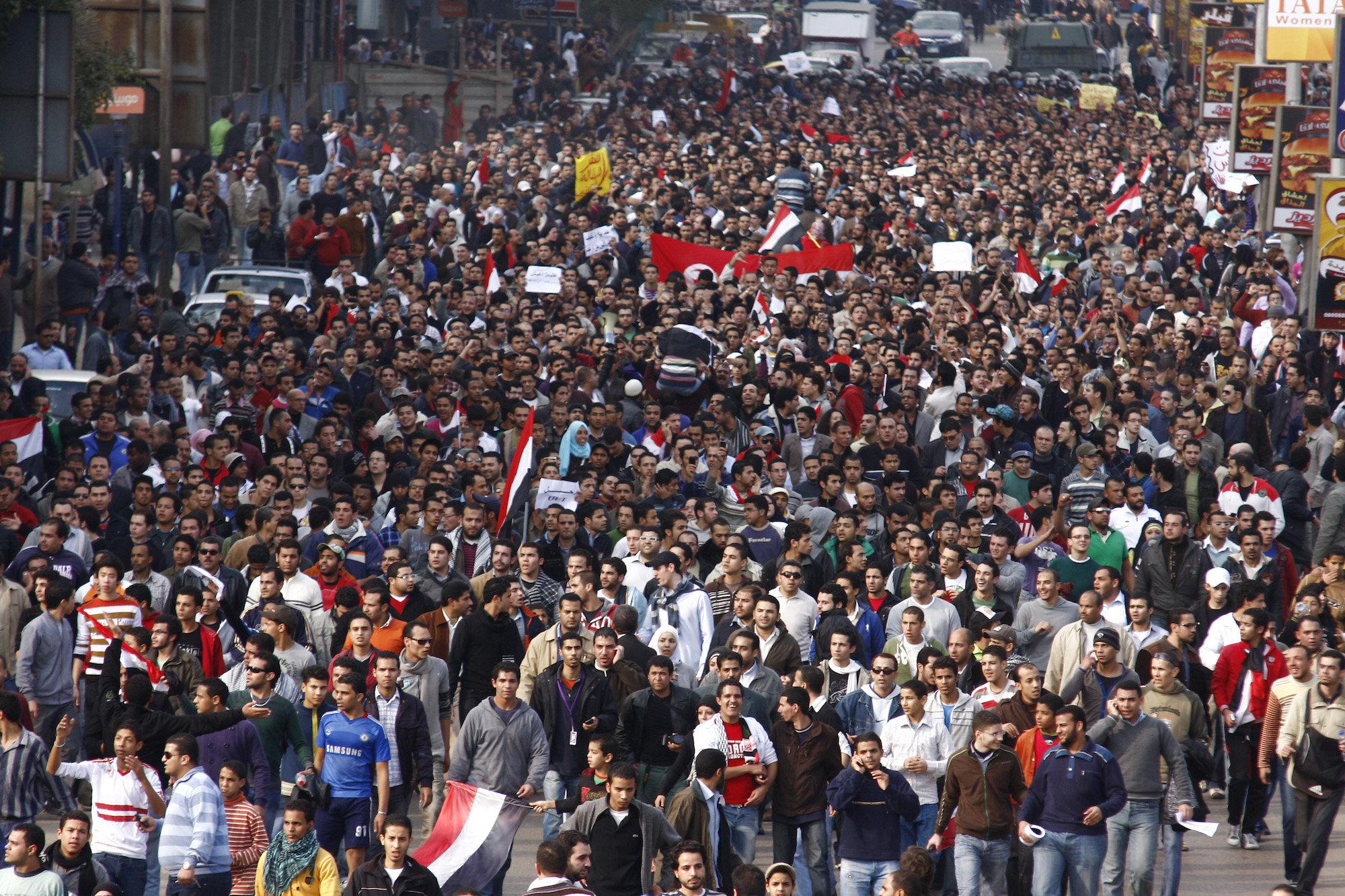 Egypt Arab Spring Protests
