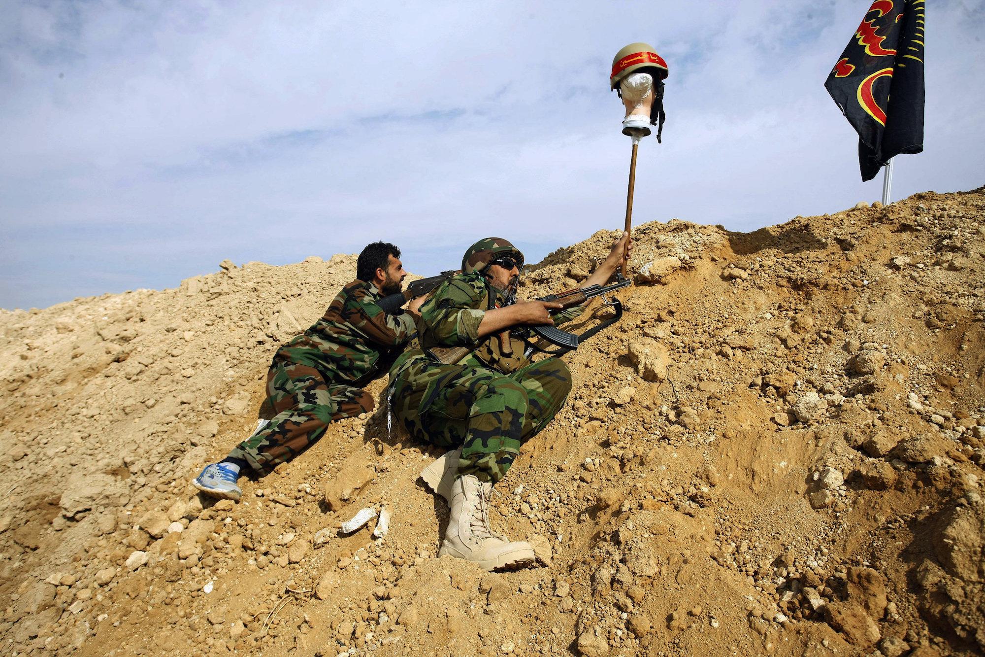 Iraqi Shia fighters