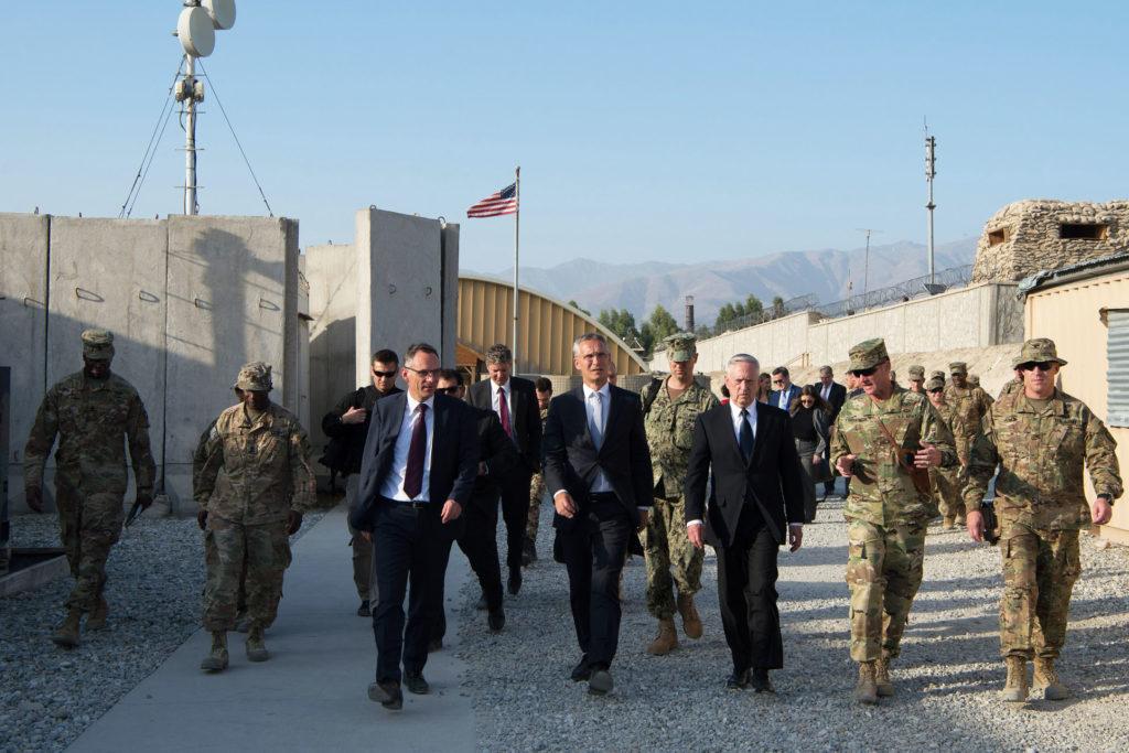 Mattis in Afghanistan