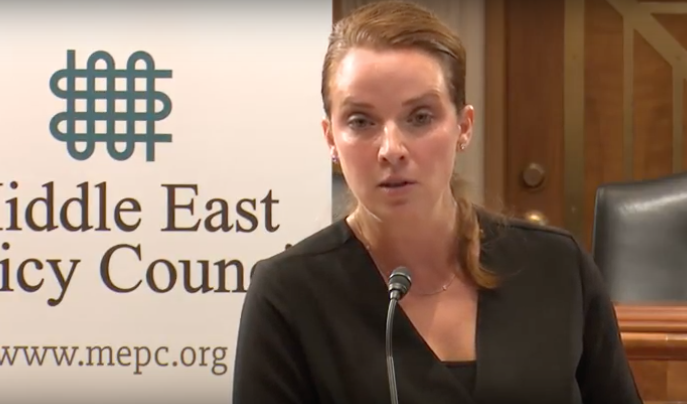 Karen E. Young at the Middle East Policy Council