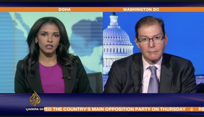 Hussein Ibish on Al Jazeera