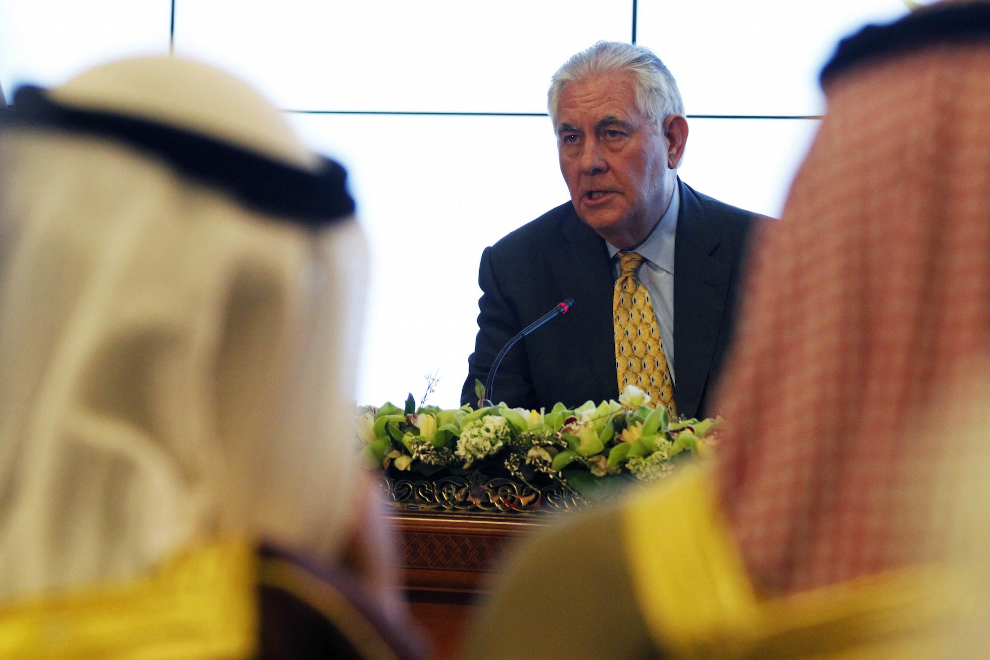 Tillerson in Kuwait