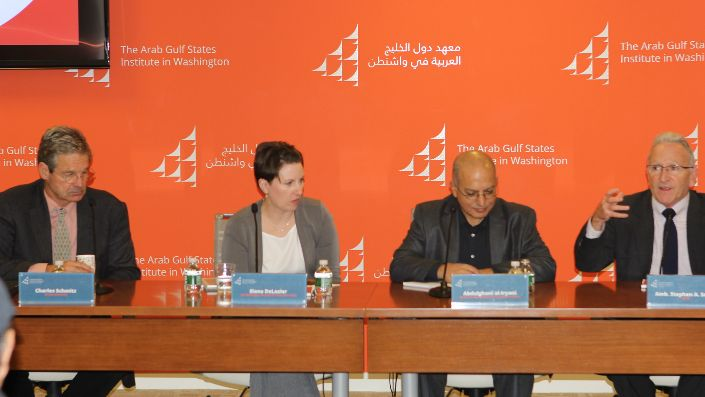 Yemen at a Crossroads panel on October 16