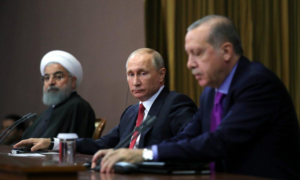Rouhani, Putin, and Erdogan