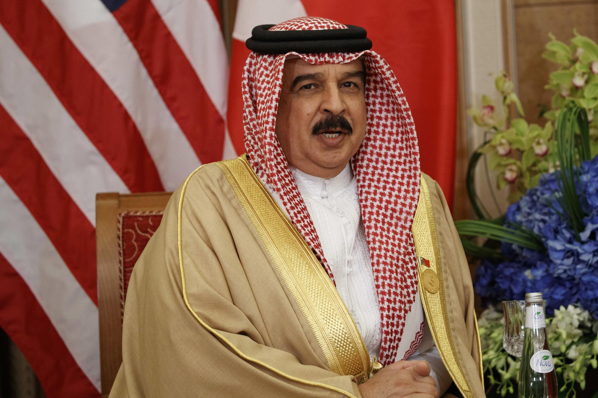 Bahraini King Hamad al-Khalifa