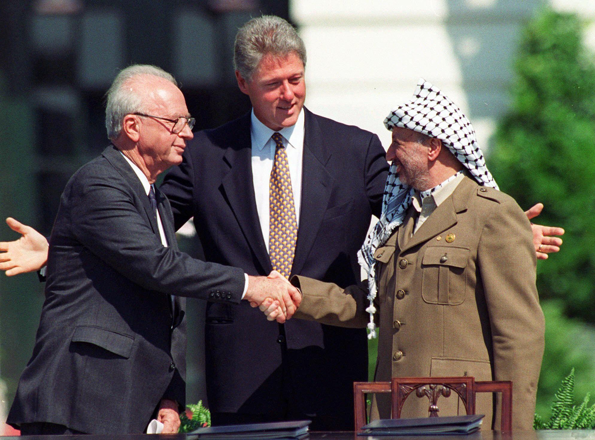 Oslo Accords handshake