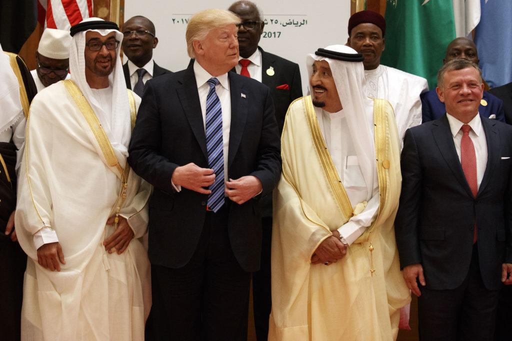 Trump and Arab Leaders