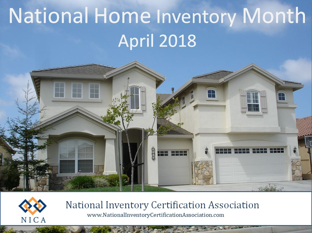 Home Inventory Month