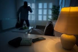 Burglar inside house