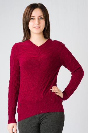 Пуловер с косами Glenfield