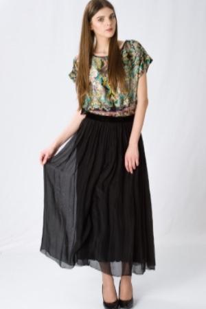 Эффектный топ и модная юбка La Fee Maraboutee
