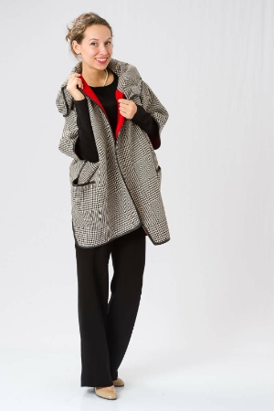Стильное пальто-кейп WEILL (Франция)