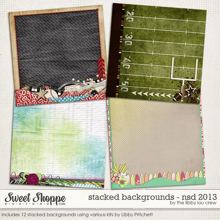 Stacked Background Freebie by Libby Pritchett