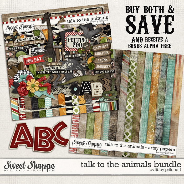 Talk To The Animals Bundle by Libby Pritchett
