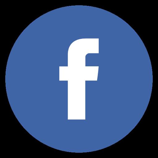 logo facebook rond