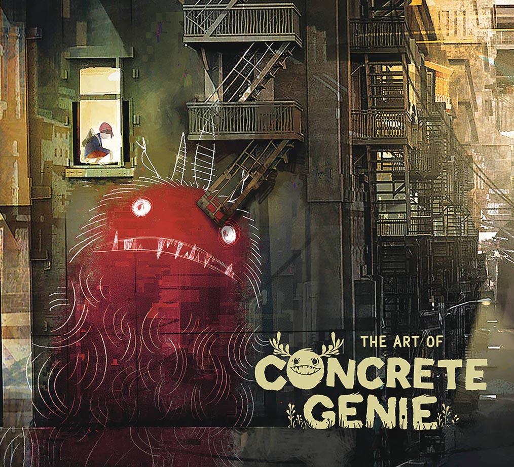 ART OF CONCRETE GENIE HC