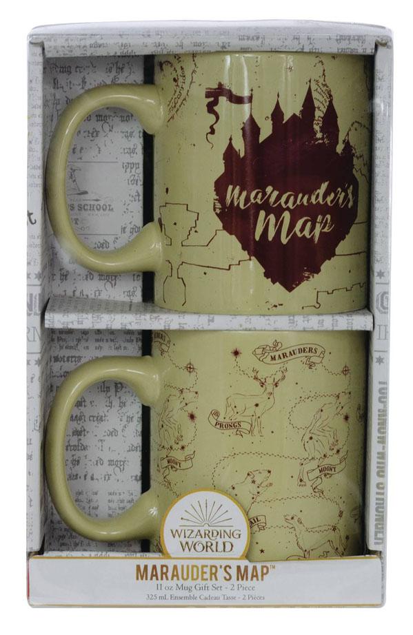 HARRY POTTER – MARAUDERS MAP 11OZ MUG 2PK SET