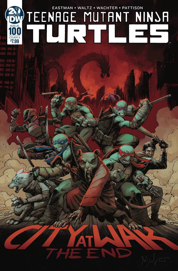 TMNT ONGOING #100
