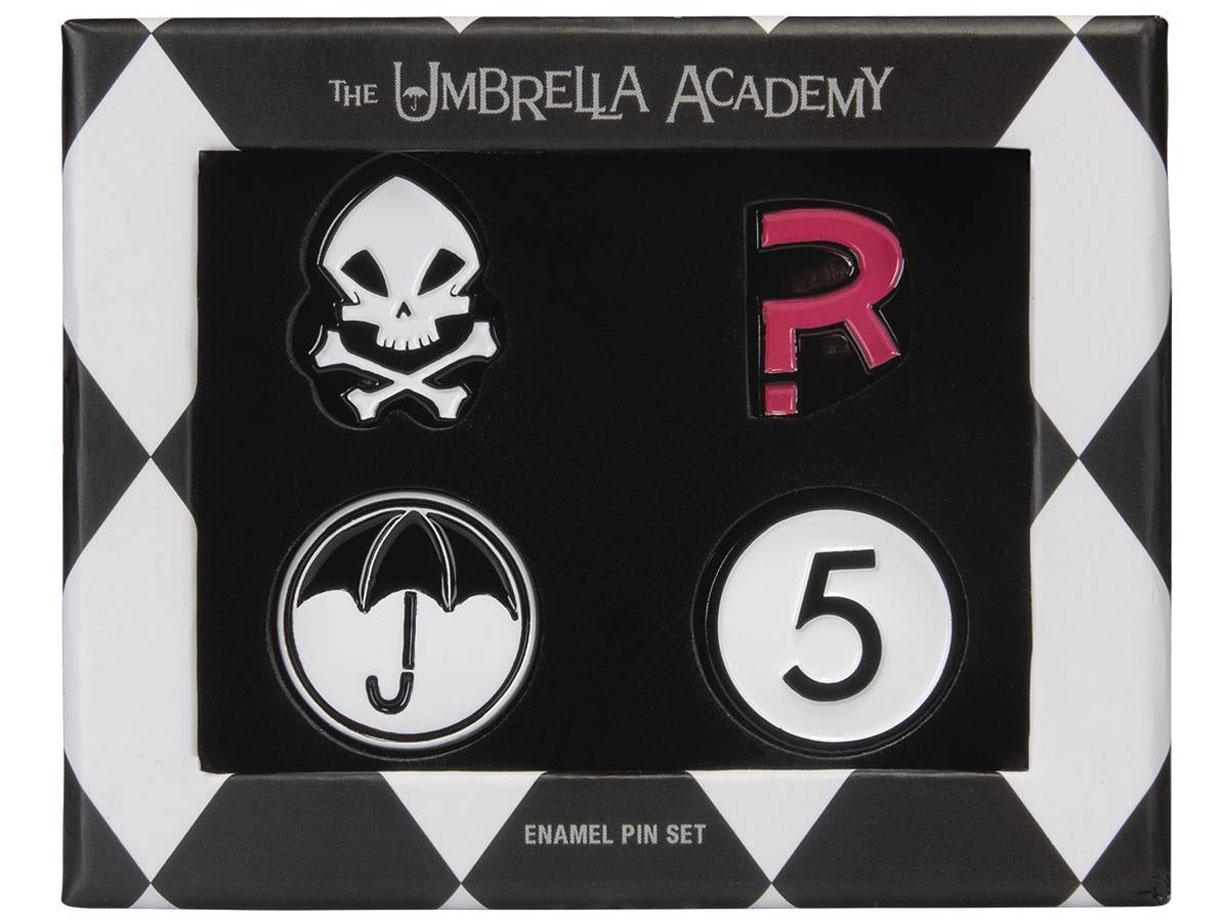 UMBRELLA ACADEMY – ENAMEL PIN SET