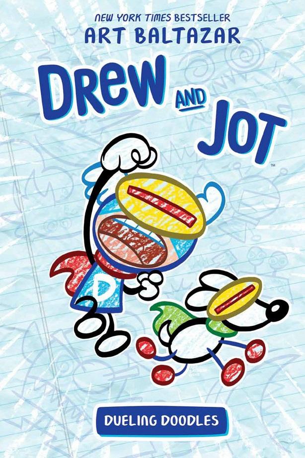 DREW & JOT – DUELING DOODLES ORIGINAL GN HC