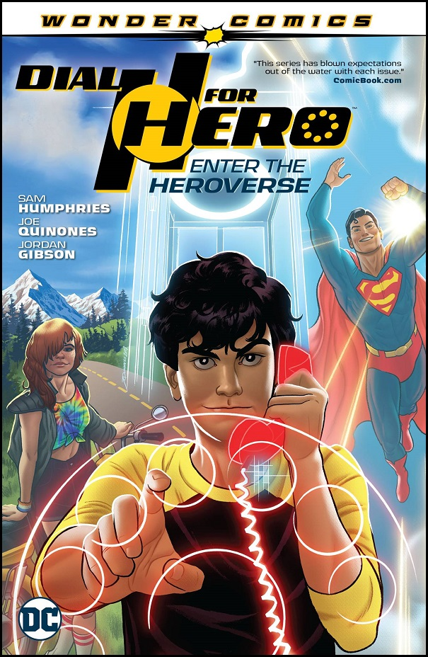 DIAL H FOR HERO TP VOL 01 – ENTER THE HEROVERSE