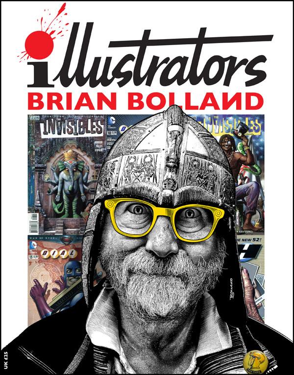 ILLUSTRATORS SPECIAL #6 – ART OF BRIAN BOLLAND