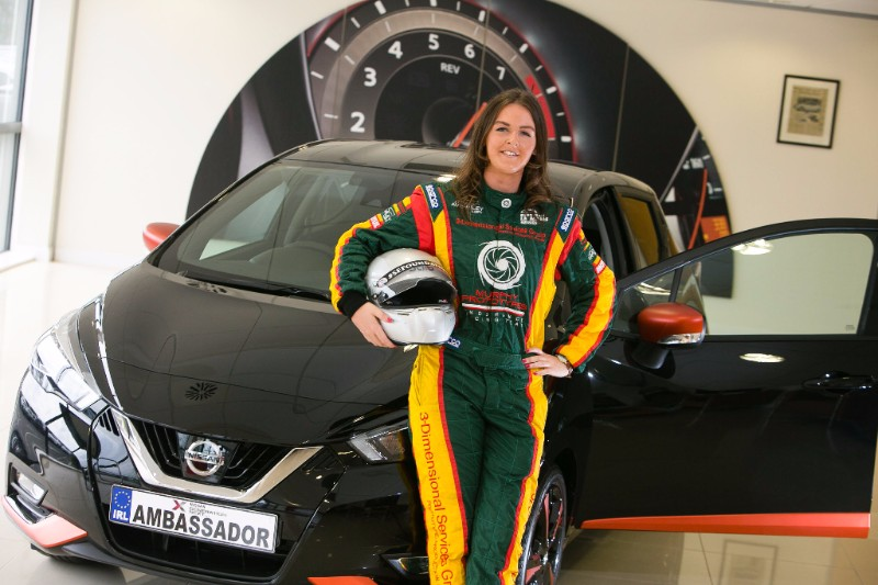 About Nicole Drought: Nicole Drought, 24, from Roscrea in Tipperary, is Ireland's top female racing driver. In 2016, she became the first woman to win in the Irish Touring Car Championship, taking victory in the Production Class in her Honda Integra. She has subsequently raced in Global GT Lights, Stryker Sportscars and Formula Vee. Nicole is a Nissan Generation Next Ambassador, and also the only Irish Ambassador for the International Sean Edwards Foundation, with whom she tested a Porsche GT3 Supercup in Le Castellet in 2016. In 2018, Nicole raced in the Irish Stryker Championship, running at the front all year with a number of podium finishes.