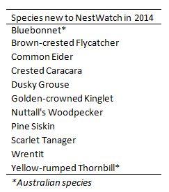 New species 2014