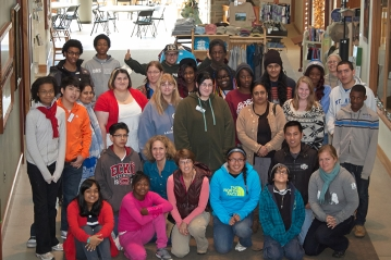 Participants at 2013 Careers and Conservation Workshop