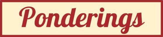 Ponderings logo