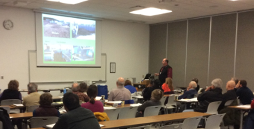 Dane Terrill presents in the Compost session