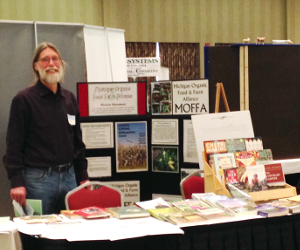 John Hooper at MOFFA's booth at GLEXPO