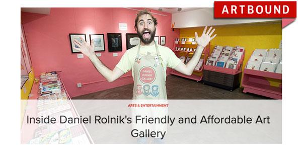 Daniel Rolnik on KCET's artbound