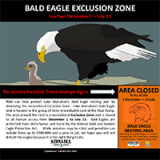 Wanahoo Eagle Exclusion Zone