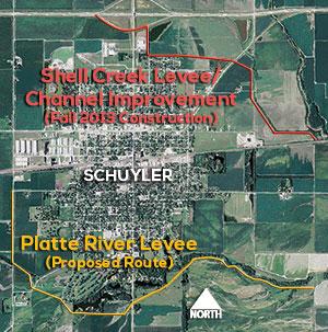 Schuyler 205 Levees