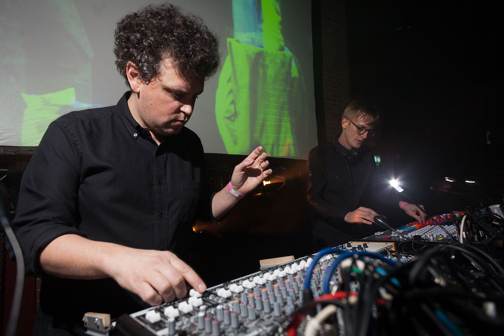 Simian Mobile Disco in action by David Bowen