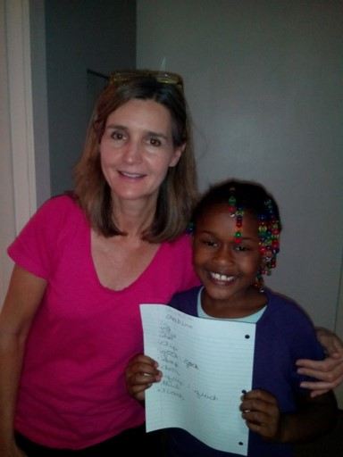 Tutor with Smiling Student