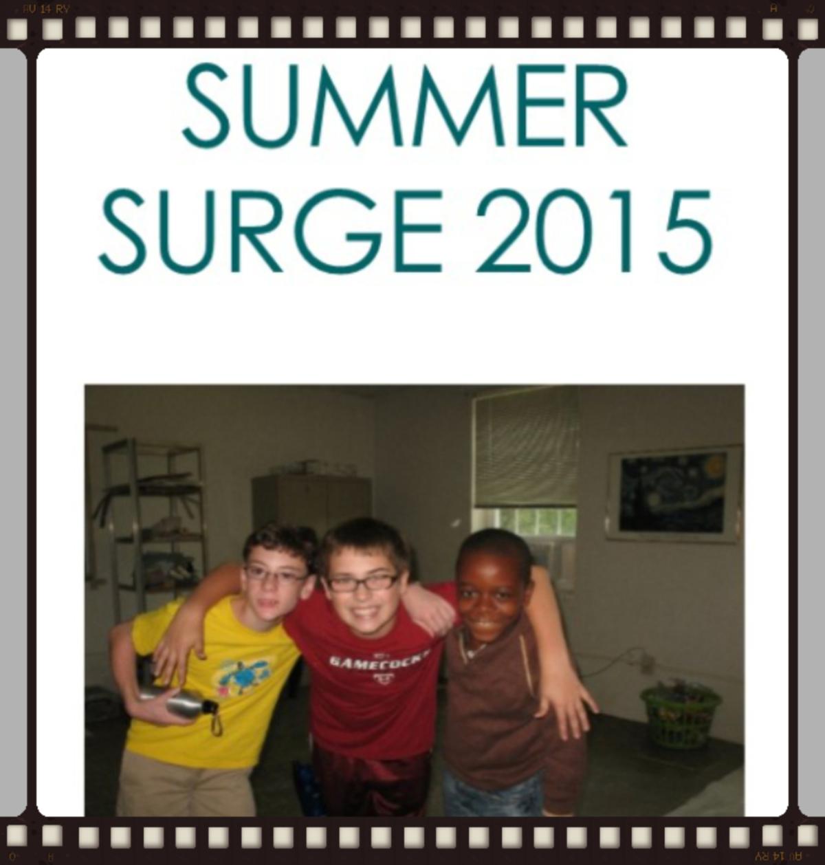 Summer Surge Registration Now Open!