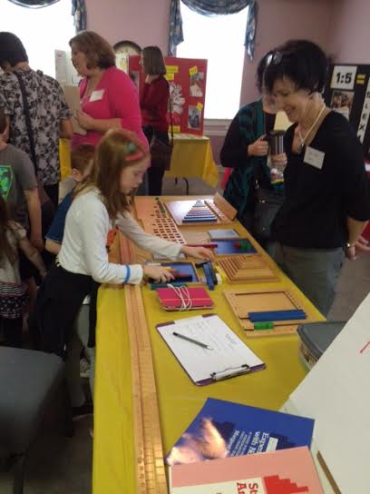 Open House featured displays of Stern Math