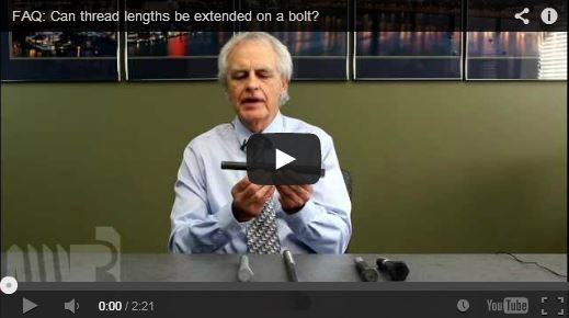 Video: Extending Threads on a Bolt
