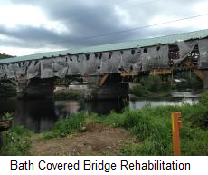Bath Covered Bridge Rehabilitation | Portland Bolt