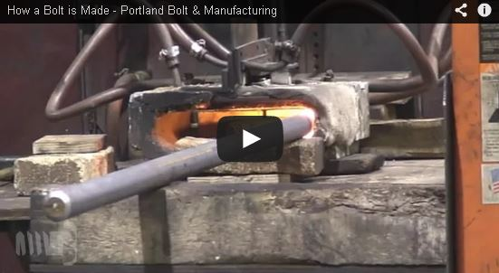 How a Bolt is Made | Portland Bolt