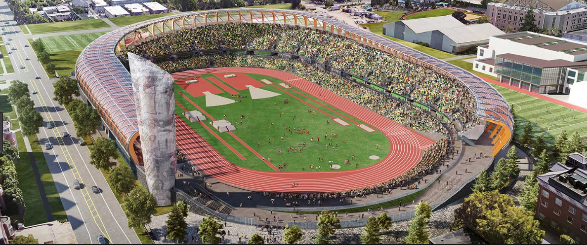 Hayward Field | Portland Bolt